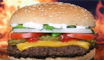 汉堡包连锁加盟店