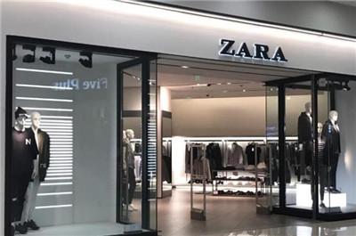 zara男装加盟